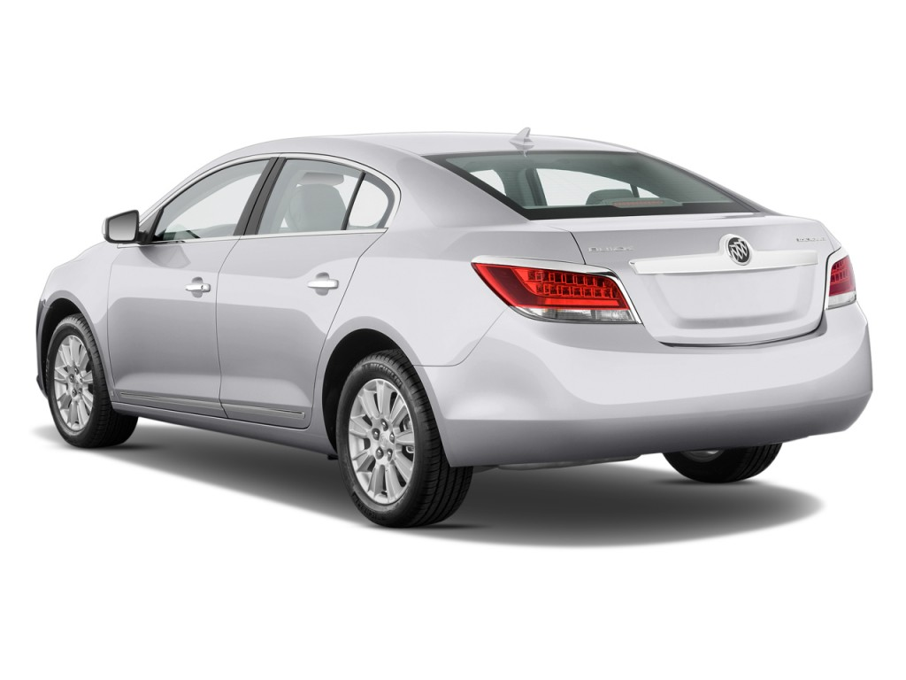 2011 Buick LaCrosse 4-door Sedan CX Angular Rear Exterior View