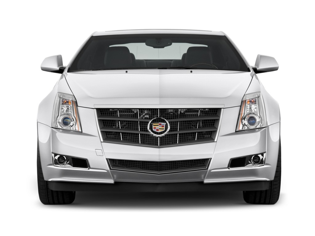 2011 Cadillac CTS Coupe 2-door Coupe Premium RWD Front Exterior View