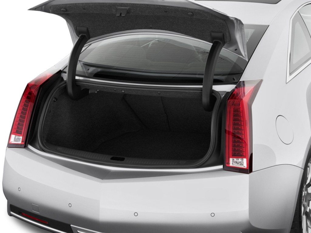 Image: 2011 Cadillac CTS Coupe 2-door Coupe Premium RWD ...