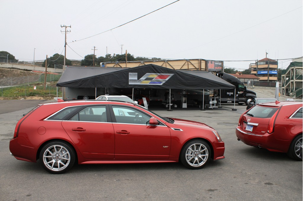Image First Drive 2011 Cadillac Cts V Wagon Size 1024