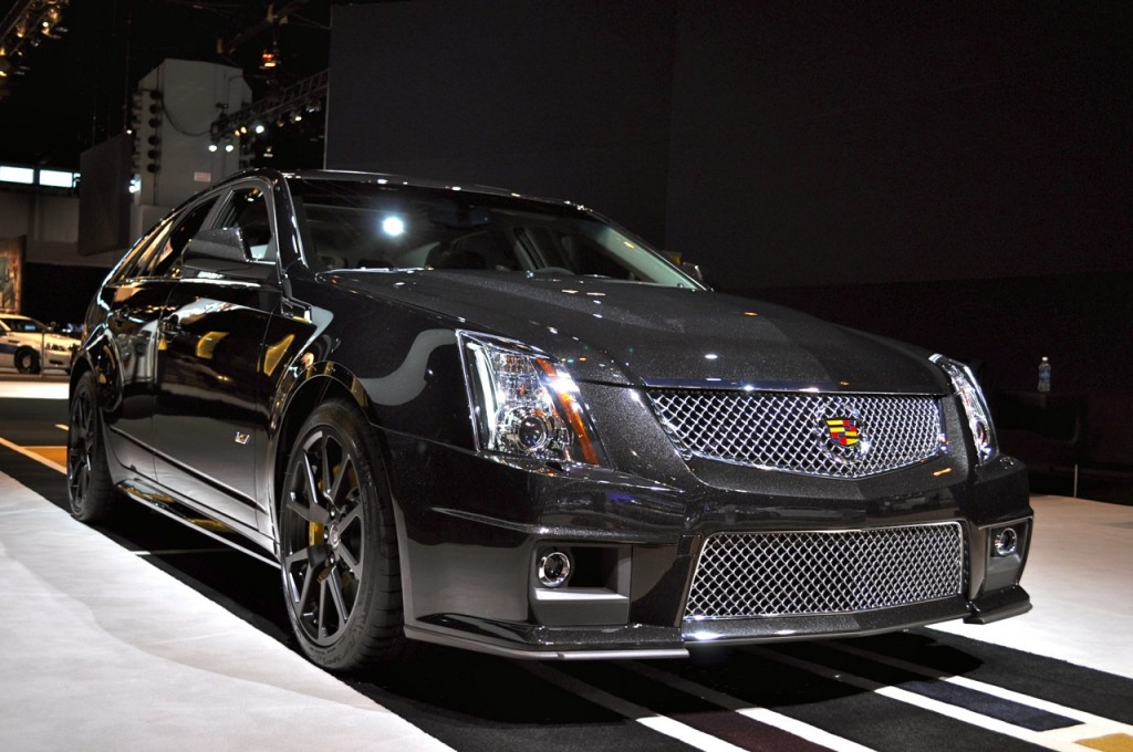 Image: 2011 Cadillac CTS-V Wagon Black Diamond Edition ...