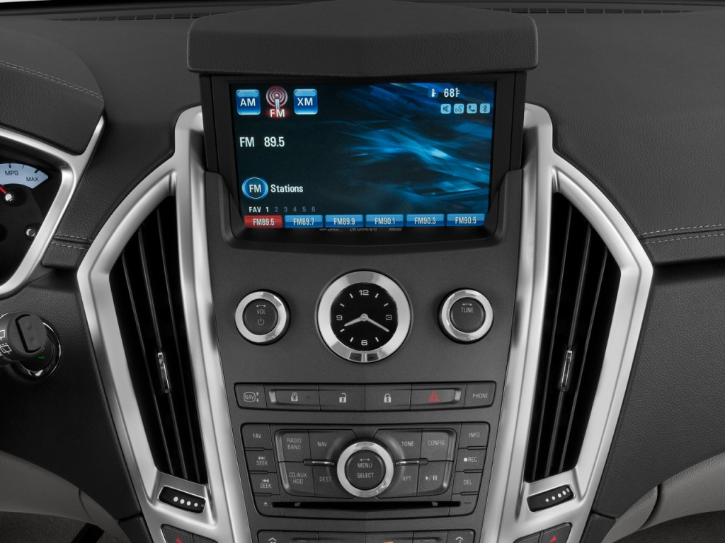 image 2011 cadillac srx fwd 4 door performance collection audio system size 1024 x 768 type. Black Bedroom Furniture Sets. Home Design Ideas