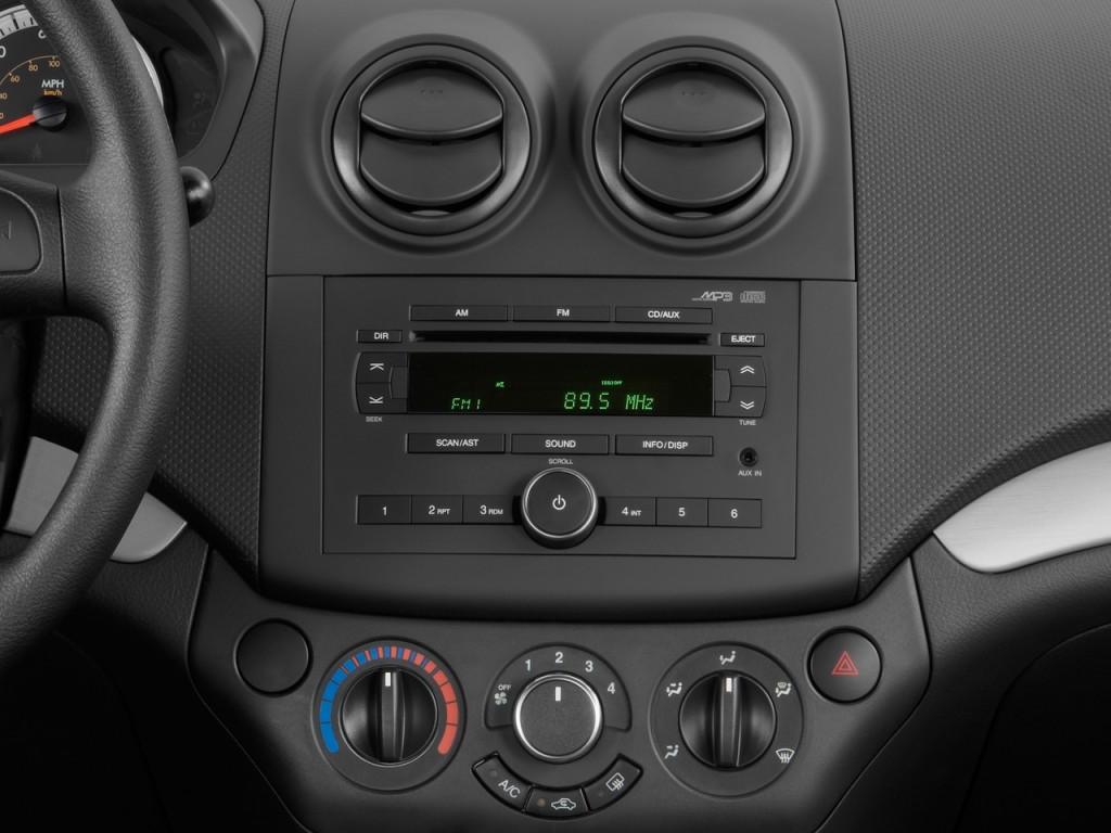 Image 2011 Chevrolet Aveo 4 Door Sedan Ls Instrument
