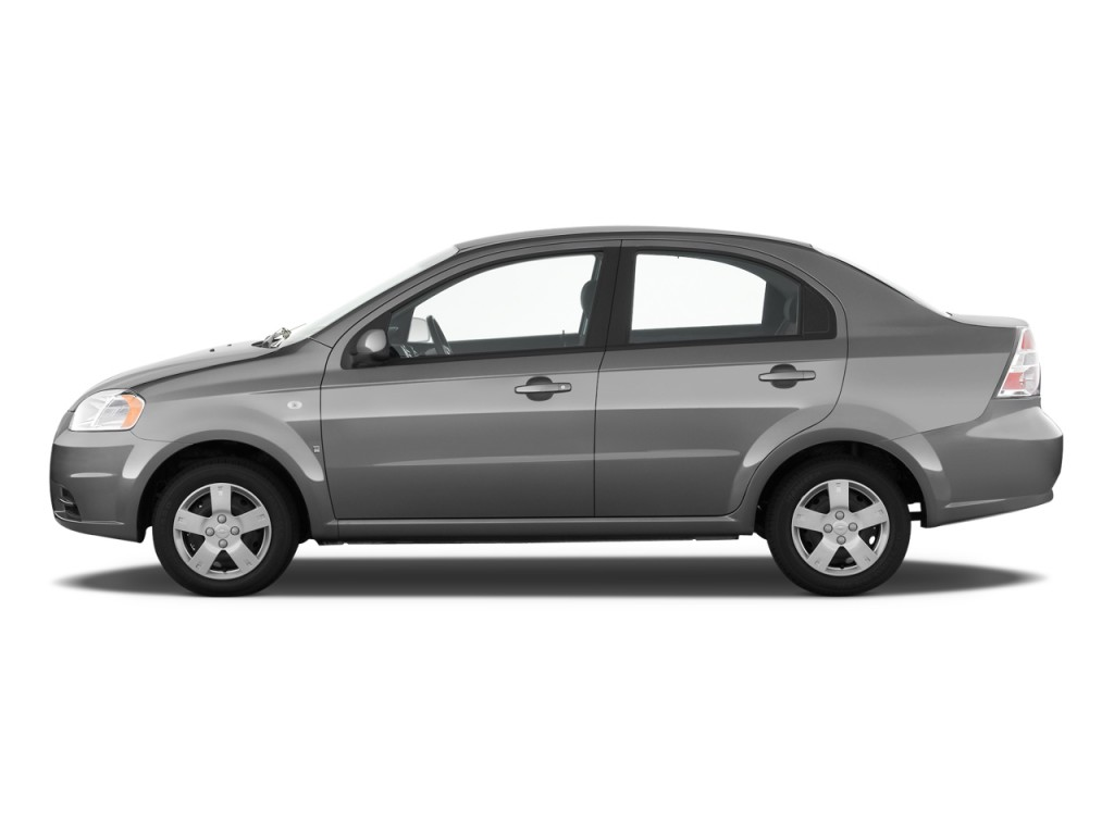 image 2011 chevrolet aveo 4 door sedan ls side exterior. Black Bedroom Furniture Sets. Home Design Ideas