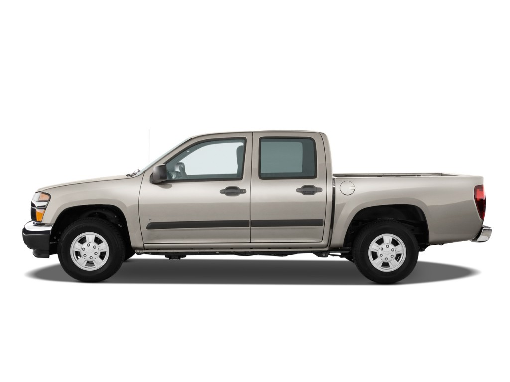 "2011 Chevrolet Colorado 2WD Crew Cab 126.0"" LT w/1LT Side Exterior View"