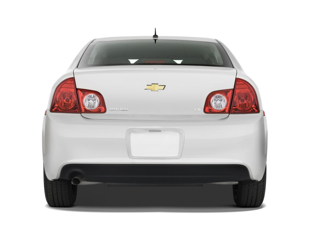 Image: 2011 Chevrolet Malibu 4-door Sedan LS w/1LS Rear ...