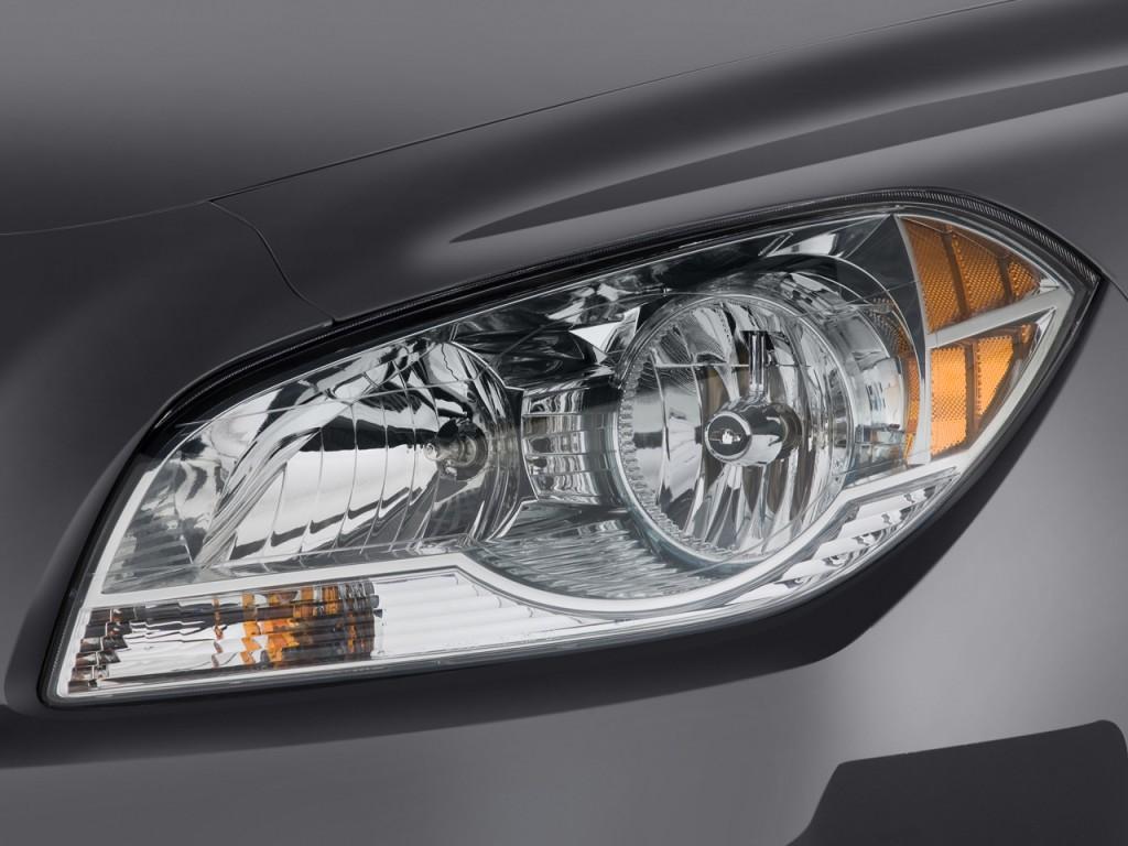 Image: 2011 Chevrolet Malibu 4-door Sedan LT w/1LT Headlight, size ...