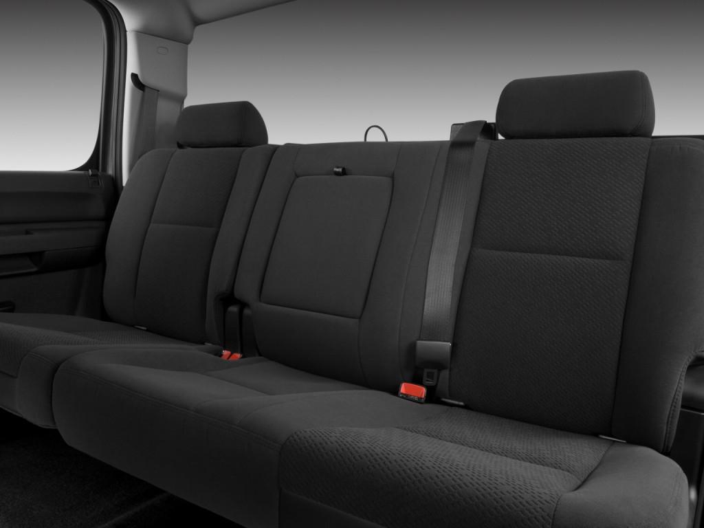 Image 2011 Chevrolet Silverado 1500 2wd Crew Cab 143 5 Quot Lt Rear Seats Size 1024 X 768 Type