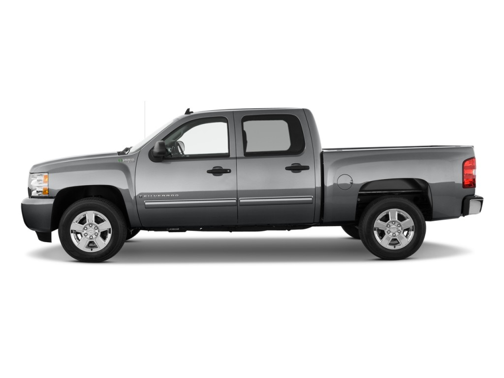 image 2011 chevrolet silverado 1500 hybrid 4wd crew cab 143 5 2hy side exterior view size. Black Bedroom Furniture Sets. Home Design Ideas