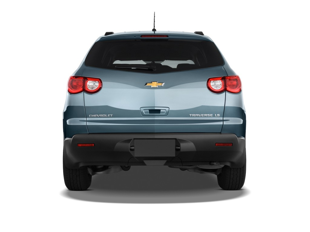 Image 2011 chevrolet traverse fwd 4 door ls rear exterior for Rear exterior door