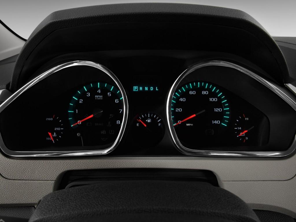 2013 Chevy Impala Ltz >> Image: 2011 Chevrolet Traverse FWD 4-door LTZ Instrument ...