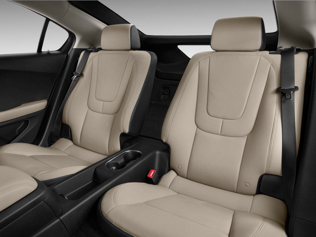 2011 Chevrolet Volt 5dr HB Rear Seats