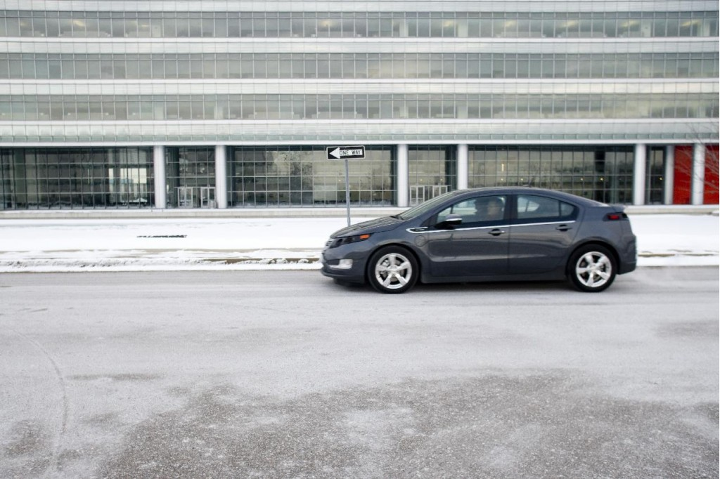 2011 Chevrolet Volt pre-production prototype, January 2010
