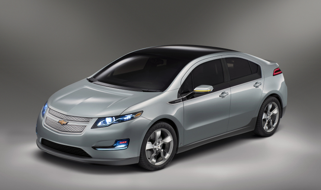 2011 Chevrolet Volt Production Show Car