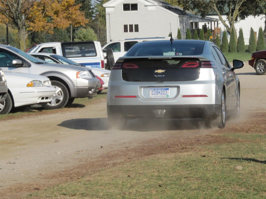 2011 Chevrolet Volt test drive, Michigan, October 2010