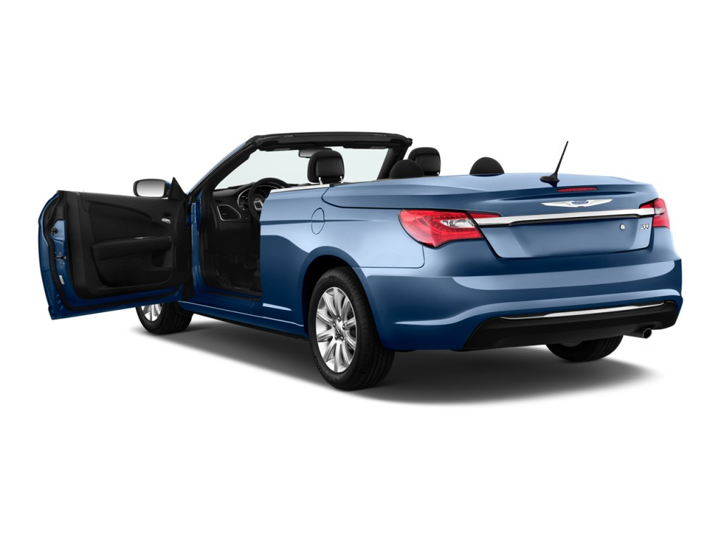 Image 2011 Chrysler 200 2 Door Convertible Touring Open