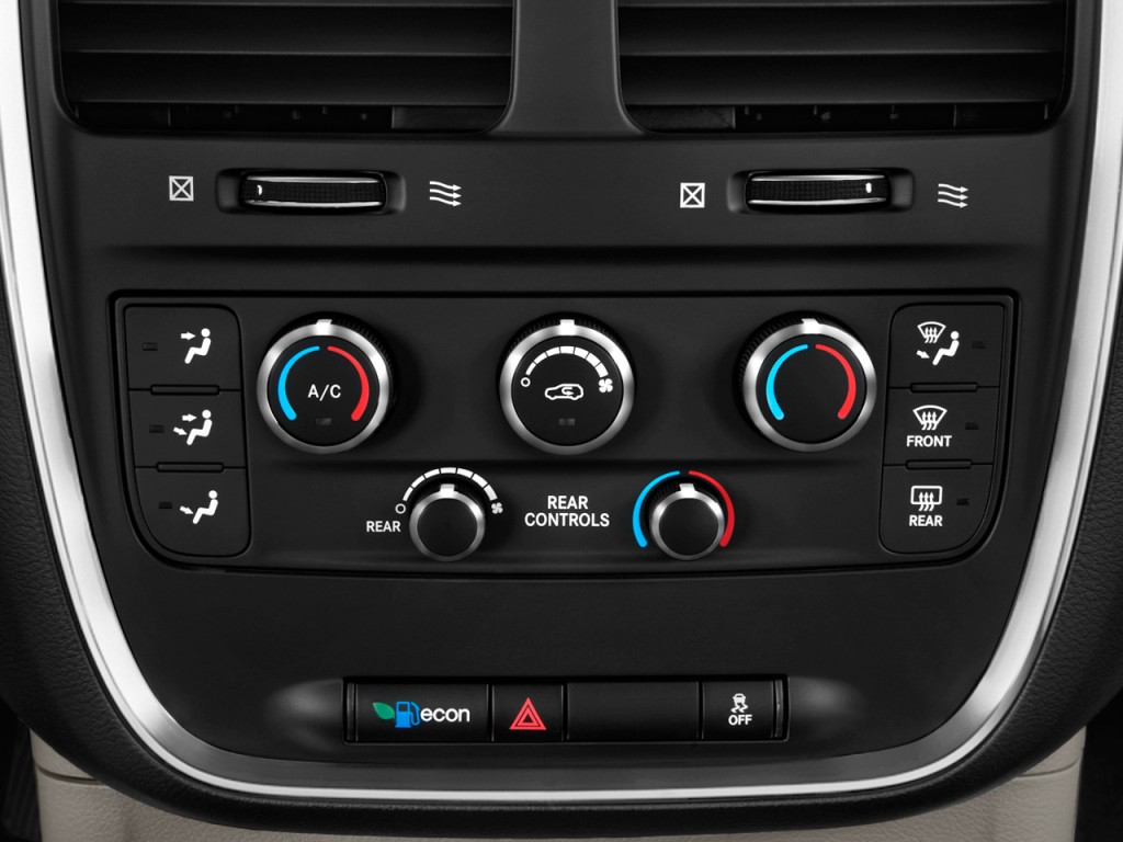 Dodge Neon 2017 >> Image: 2011 Dodge Grand Caravan 4-door Wagon Express Temperature Controls, size: 1024 x 768 ...