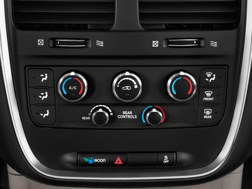 image  dodge grand caravan  door wagon express temperature controls size