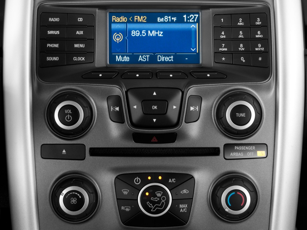 Image 2011 Ford Edge 4 Door Se Fwd Audio System Size