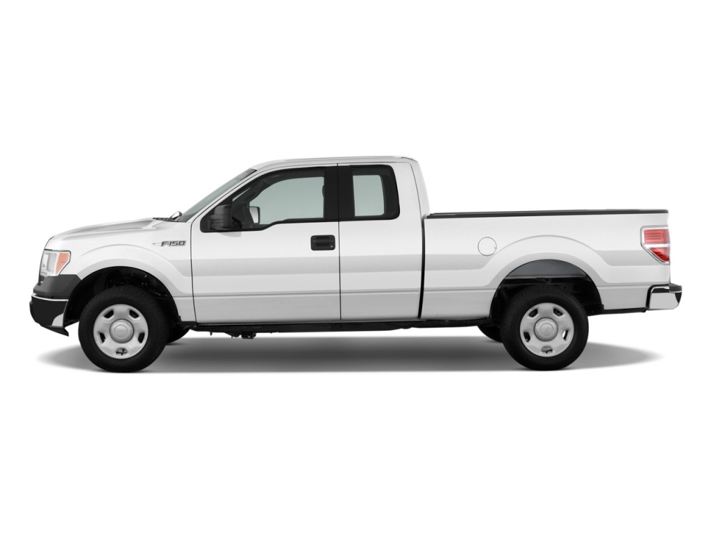 Image 2011 Ford F 150 2wd Supercab 145 Quot Xl Side Exterior