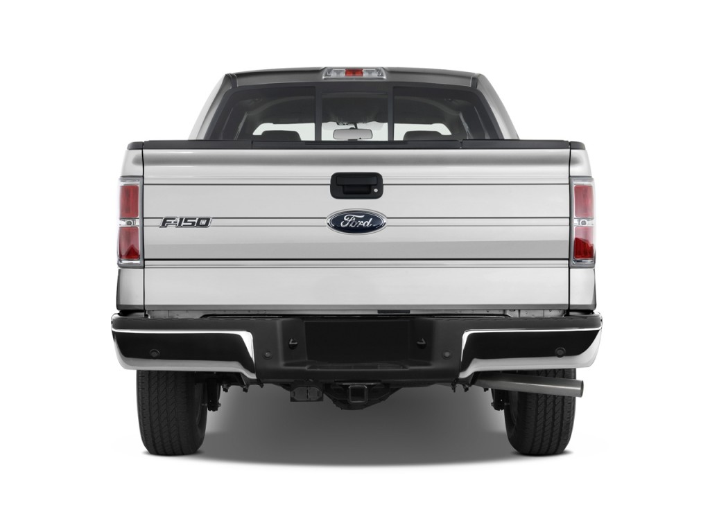 Image 2011 Ford F 150 2wd Supercrew 145 Quot Xlt Rear