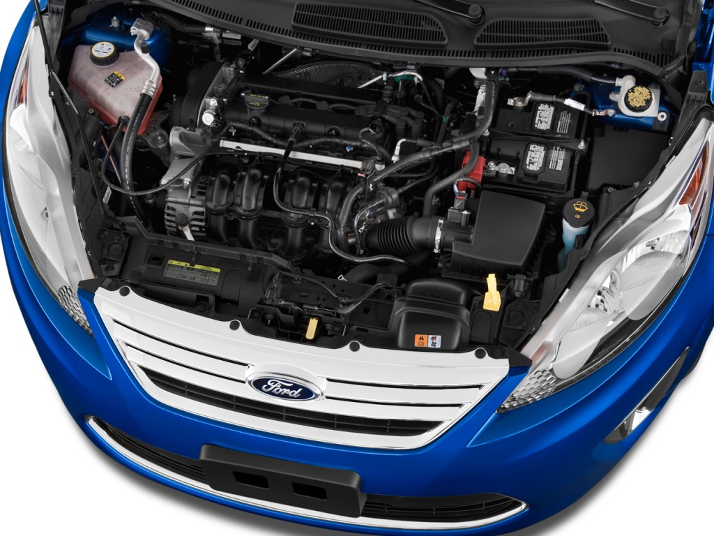 Ford Transit Wagon >> Image: 2011 Ford Fiesta 4-door Sedan SEL Engine, size ...