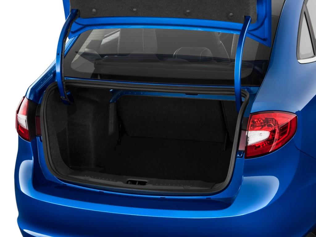 Image: 2011 Ford Fiesta 4-door Sedan SEL Trunk, Size: 1024