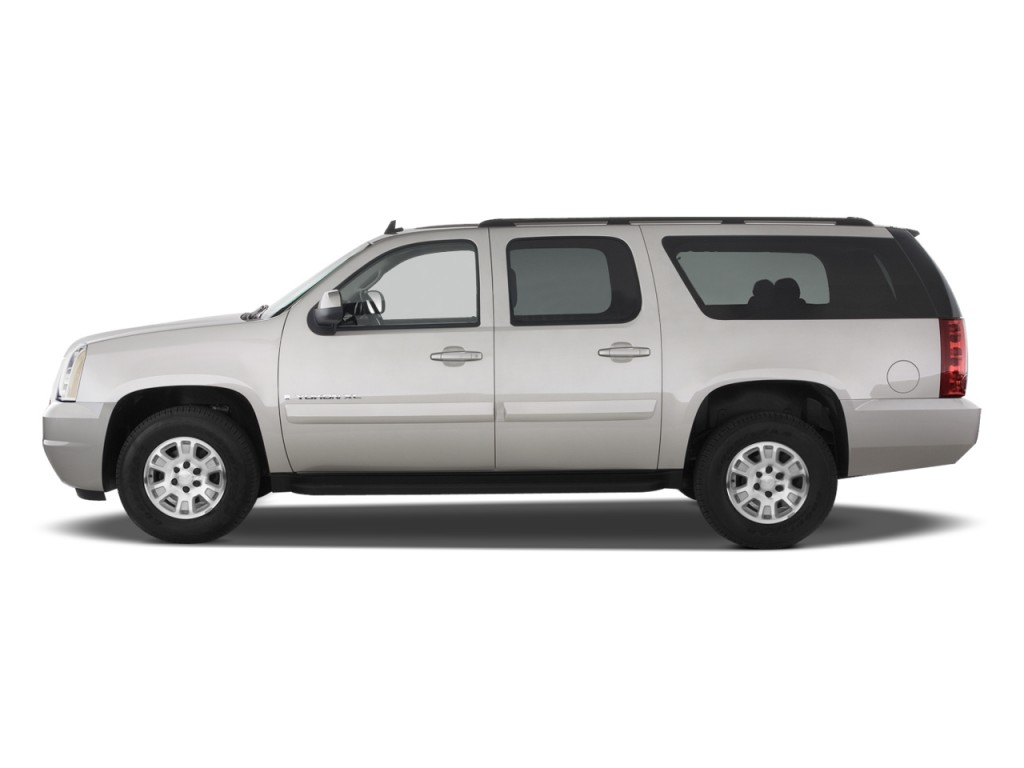 image 2011 gmc yukon xl 2wd 4 door 2500 sle side exterior view size 1024 x 768 type gif. Black Bedroom Furniture Sets. Home Design Ideas