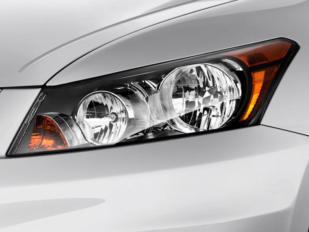 Honda Vehicle Headlights : Image honda accord sedan door i auto lx headlight
