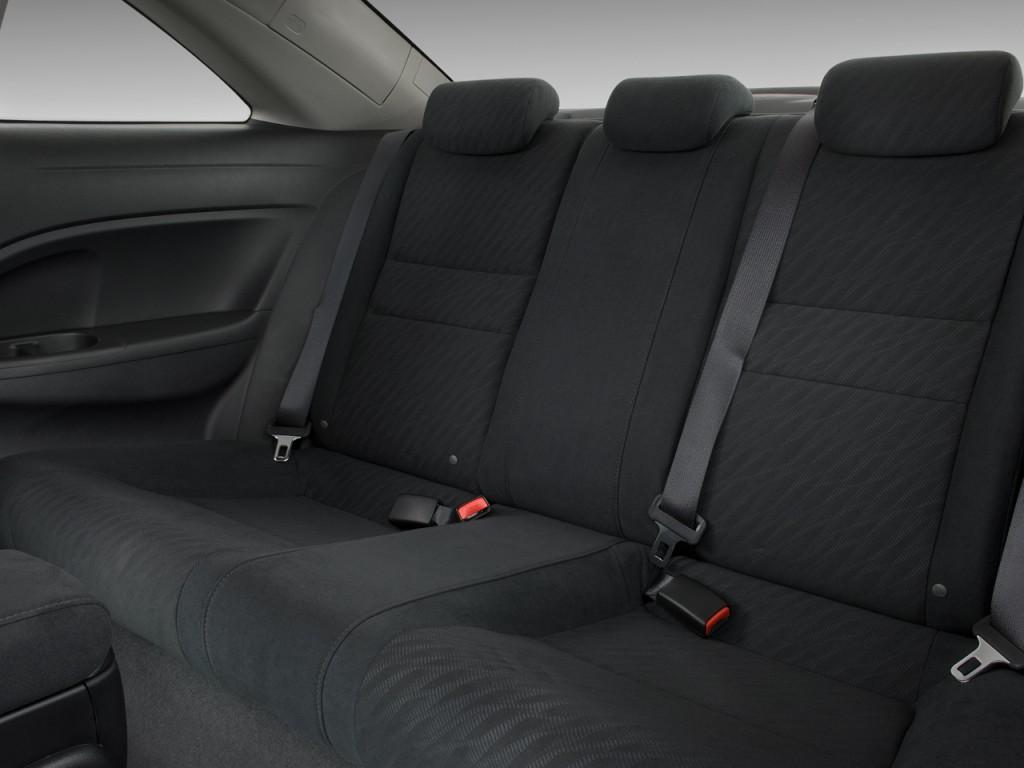 Image 2011 Honda Civic Coupe 2 Door Auto Ex Rear Seats