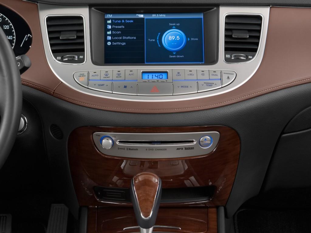 Coupe Vs Sedan >> Image: 2011 Hyundai Genesis 4-door Sedan V8 Instrument Panel, size: 1024 x 768, type: gif ...