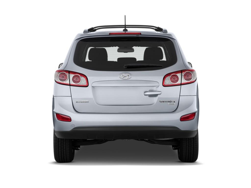 Image 2011 Hyundai Santa Fe Fwd 4 Door I4 Auto Gls Rear