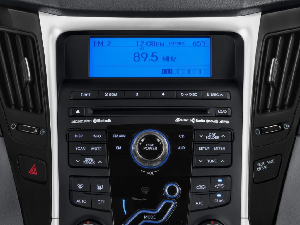 Image 2011 Hyundai Sonata 4 Door Sedan I4 Auto Limited Audio System Size 1024 X 768 Type