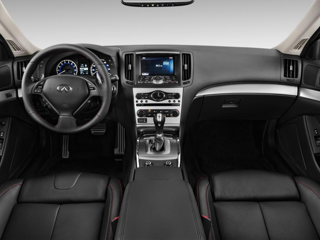 Image 2011 Infiniti G37 Coupe 2 Door Ipl Rwd Dashboard