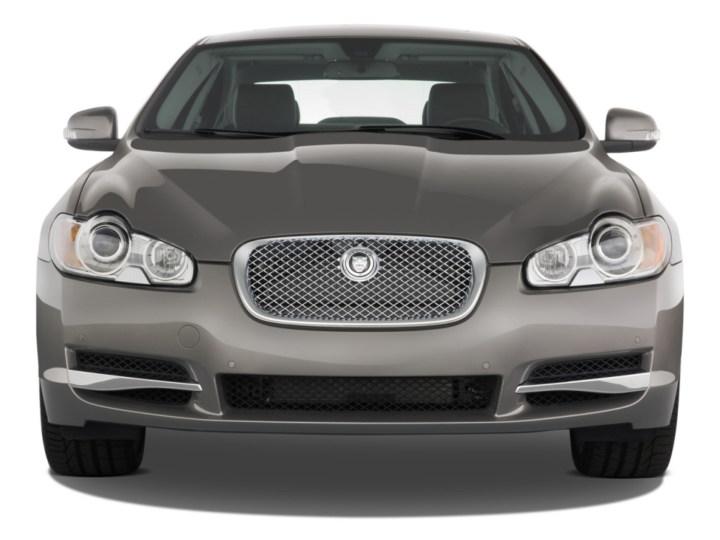 2011 Jaguar XF 4-door Sedan XF Supercharged Front Exterior View