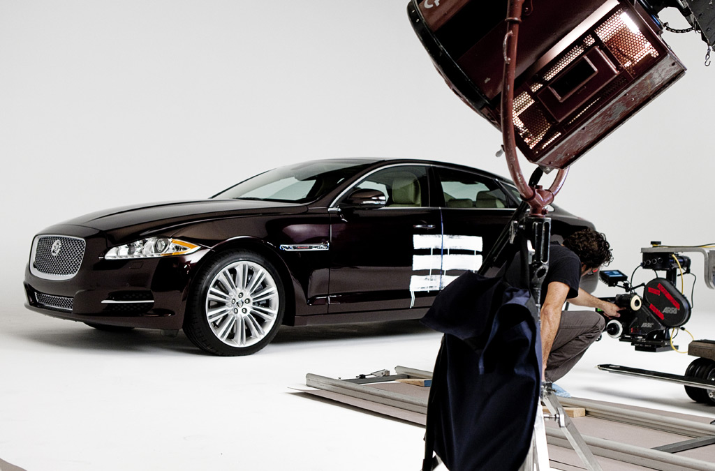 2011 Jaguar XJ on Jay-Z video set