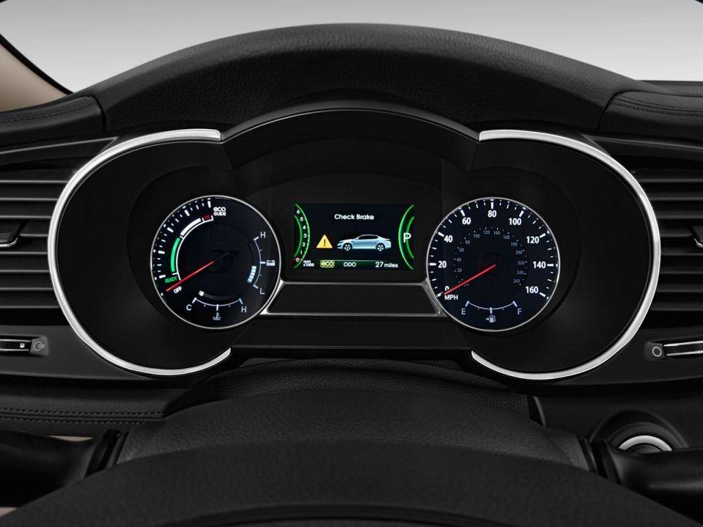 Image: 2011 Kia Optima 4-door Sedan 2.4L Auto EX Hybrid ...