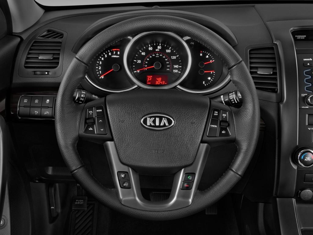 2014 Kia Optima Ex >> Image: 2011 Kia Sorento 2WD 4-door V6 EX Steering Wheel ...