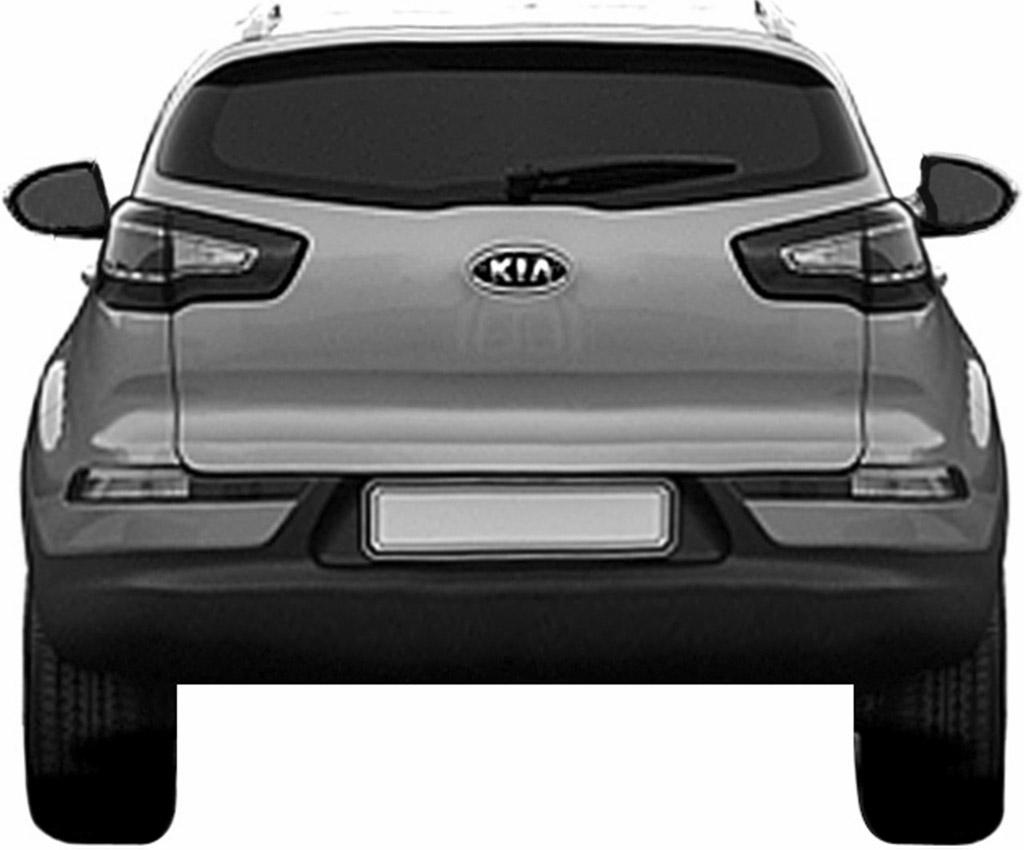 2011 Kia Sportage design patent leak