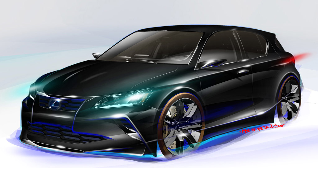 2011 Chicago Auto Show Preview Lexus Project Ct By Five Axis