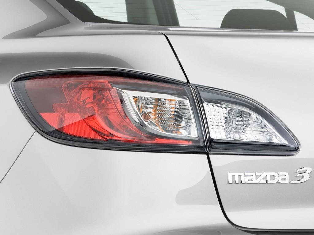Image 2011 Mazda Mazda3 4 Door Sedan Auto I Sport Tail Light Size 1024 X 768 Type Gif