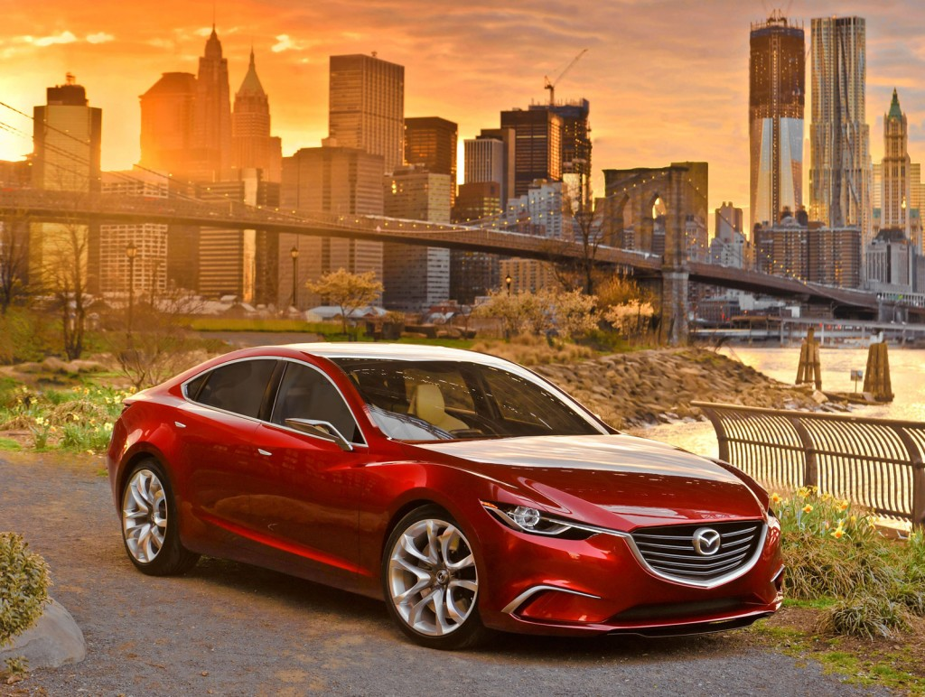 2014 Mazda Mazda6, With Takeri Concept Notes, To Bow At 2012 Paris Motor Show