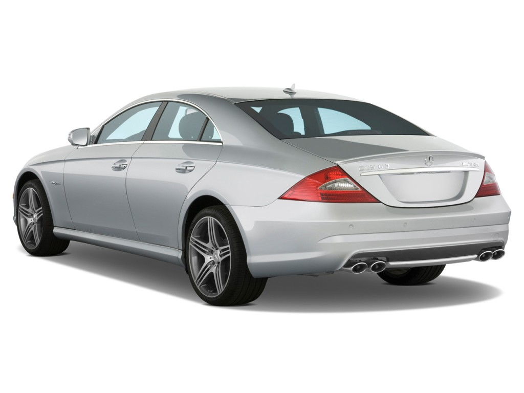 Image 2011 mercedes benz cls class 4 door sedan 6 3l amg for Mercedes benz 4 door