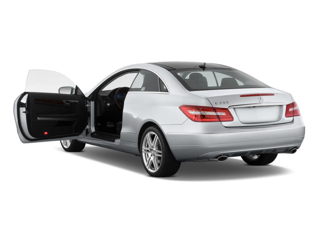 Image 2011 mercedes benz e class 2 door coupe 3 5l rwd for Mercedes benz 2 doors