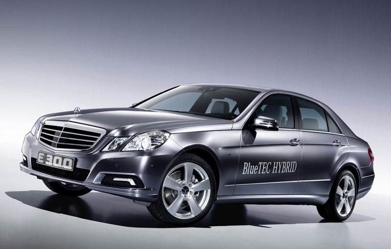 2010 geneva motor show 57 mpg mercedes benz e300 bluetec for Mercedes benz e300 hybrid