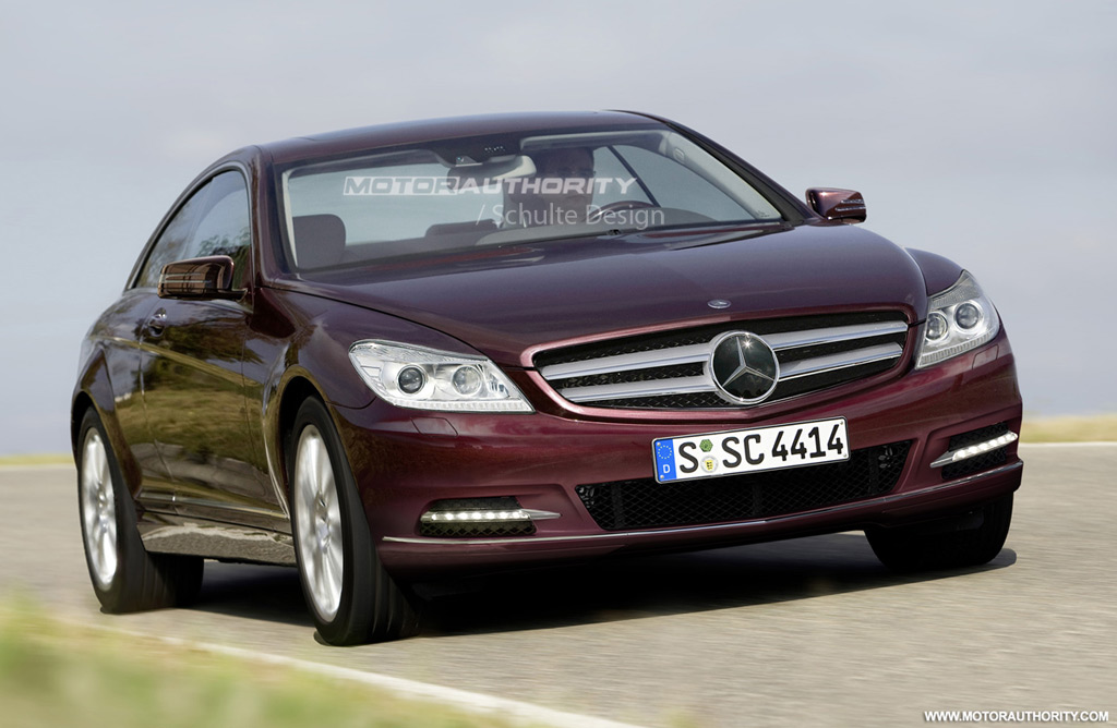 Rendered 2011 mercedes benz s class coupe for Mercedes benz 2011 s550