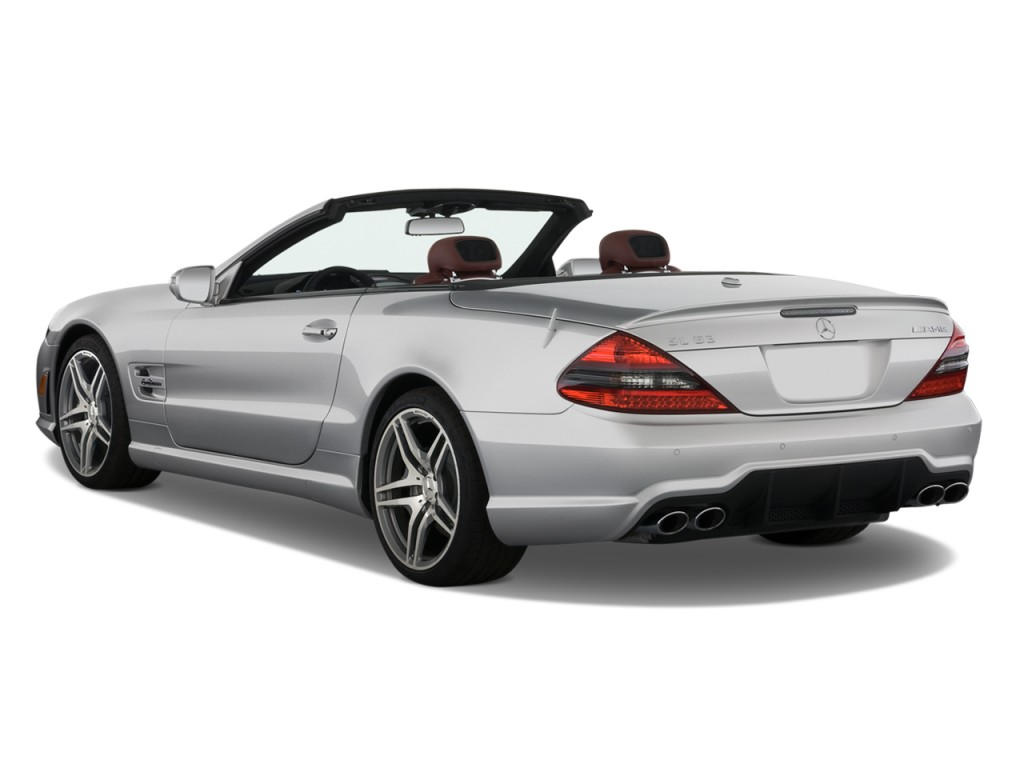 Image 2011 mercedes benz sl class 2 door roadster 6 0l for 2011 mercedes benz sl class