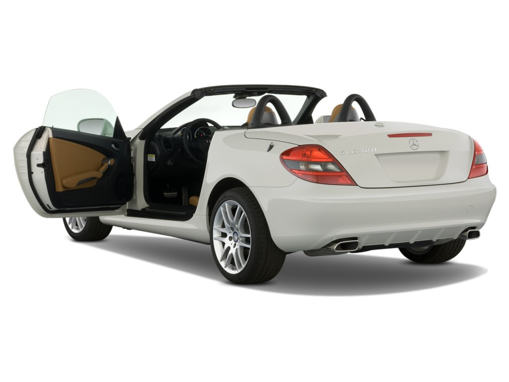 image 2011 mercedes benz slk class 2 door roadster slk300 open doors size 1024 x 768 type. Black Bedroom Furniture Sets. Home Design Ideas