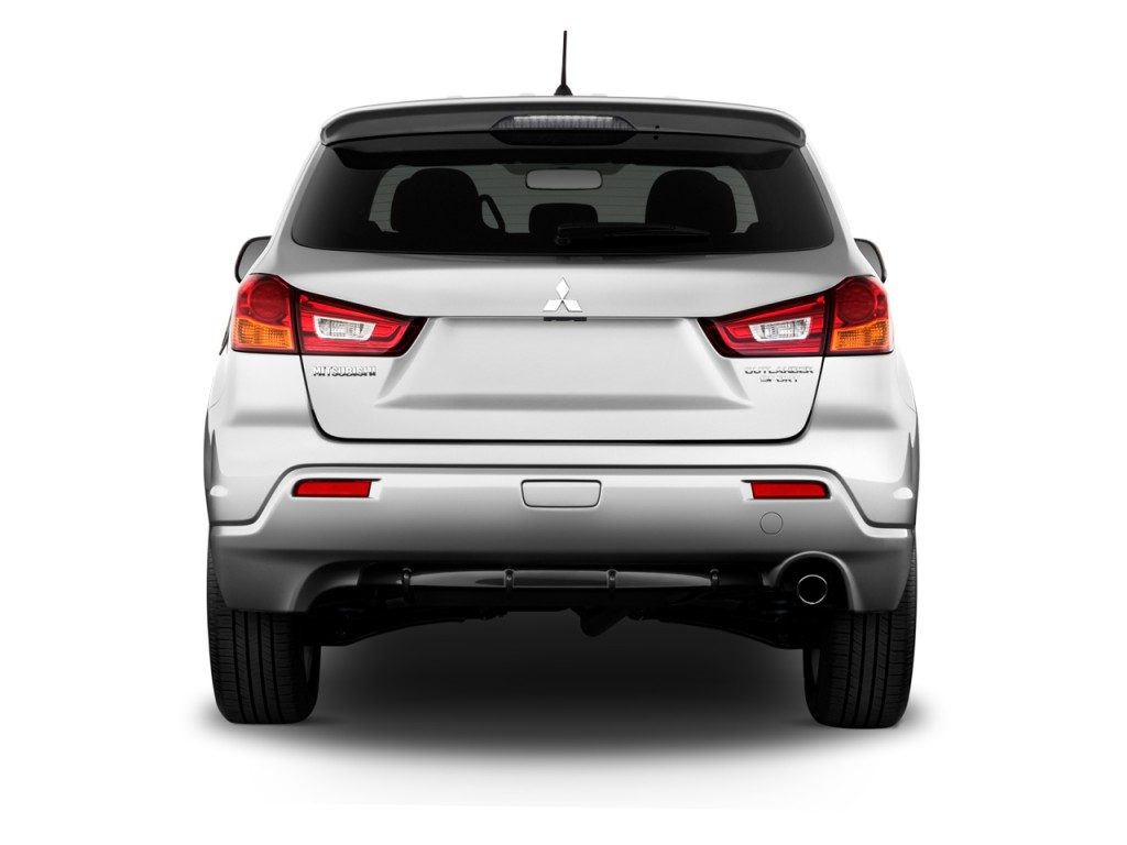 Image: 2011 Mitsubishi Outlander Sport 2WD 4-door CVT SE Rear Exterior View, size: 1024 x 768 ...