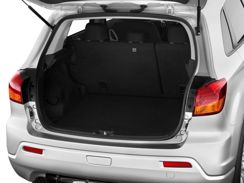 Image: 2011 Mitsubishi Outlander Sport 2WD 4-door CVT SE Trunk, size: 1024 x 768, type: gif ...